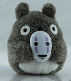 Totoro with No Face. @japanla
