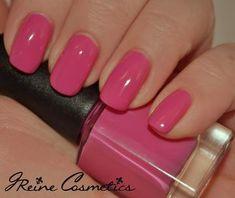 City Chic - Barbie Pink Creme Nail Polish – JReine Creating acrylic nails in the Nail Polish Colors, Gel Nail Polish, Pink Polish, City Chic, Spring Nails, Summer Nails, Cute Nails, Pretty Nails, Barbie Pink Nails
