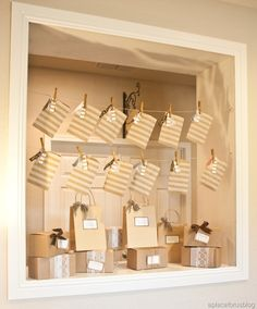 Theme: Brown Paper Packages Tied Up With String....These Are a Few of My Favorite Things