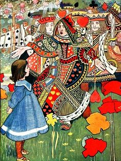 Red Queen - Charles Robinson.