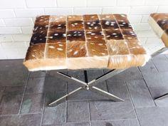 Axis deer X frame bench Cowhide Furniture, Deer, Bench, Restaurant, Frame, Table, Design, Home Decor, Picture Frame