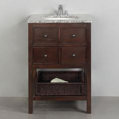 Simpli Home Burnaby Bathroom Vanity $649