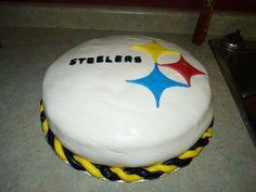 Pittsburg Steelers cake