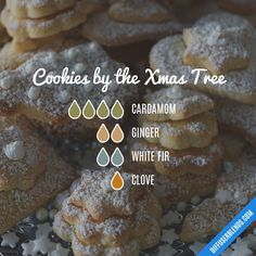Cookies by the Christmas Tree #Essentialoildiffusers