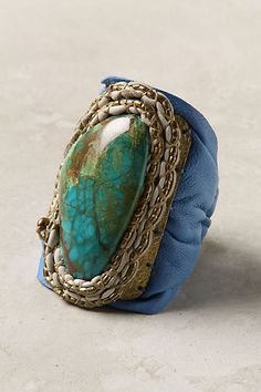 Soft Stones Bracelet, Blue #anthropologie