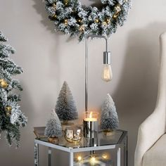 LampLust Bottle Brush Christmas Trees, Silver Sisal Table Top Decoration - Set of 3 ** Be sure to check out this amazing product. (This is an affiliate link). Home Decor Items, Home Decor Accessories, Cheap Home Decor, Gold Candles, Pillar Candles, White Highlights, Modern Rustic Decor, Fireplace Remodel, Luxury Home Decor