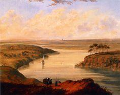 Cornelius Krieghoff - The Plains of Babylon (after Staunton)