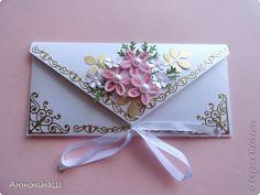 Поделка изделие Квиллинг Шоколадницы и конверты Накопилось  Бумага фото 2