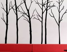 Bare Trees Nature Branches 3  uBer Decals Wall Decal by uBerDecals