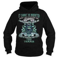 I Love TREE TRIMMER T shirts