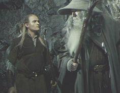 Uruviel's Argonath: Pictures: Legolas & Gandalf