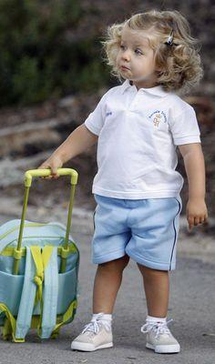 First Day of Nursery School