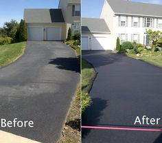 Sure-Seal Pavement Maintenance providing polytar asphalt sealcoating, asphalt paving sealcoating, driveway repairs and parking lot sealcoating and repair services for residential  in Ontario. http://www.suresealpavement.com/polytar-page/