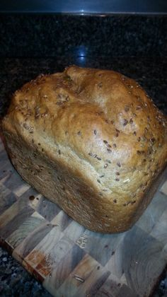Bread Machine Beer Bread (1.5 Pound Loaf). Used all white flour, honey instead of molasses and 2 tsp of yeast instead of 1. Also added an extra tbsp of beer.
