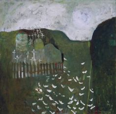 Mary NEWCOMB (1922 - 2008) 'Consecrated Ground, Co. Kerry', 1963