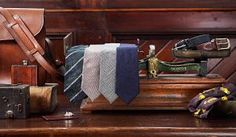 Hand-made Fox Flannel Ties Bespoke Tailoring, Visual Display, Gentleman, Flannel, Fox, Menswear, Mens Fashion, Luxury, How To Wear
