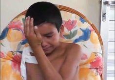 Sinta a dor desta criança ! Menino de 13 anos tem braço amputado devido ao descaso da saúde (veja Vídeo)