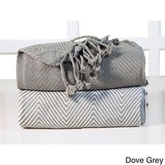 Soft 100-percent Cotton Hand Twisted Throw 50x60 (Set of 2) - 50 x 60 | Overstock.com Shopping - The Best Deals on Throws