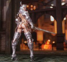 YuiH - Skyrim — 半裸アーマー 防具の意味が無い。w