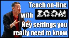 Learn about all the key settings when you teach online with Zoom. Ideal for anyone planning to teach online with Zoom. For more videos on Zoom try these ones. Teaching Strategies, Teaching Tips, Instructional Strategies, Marketing Strategies, Marketing Plan, Business Marketing, Content Marketing, Internet Marketing, Learning Tools