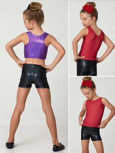 Girls dance shorts& tops pattern #1 – My Childhood Treasures