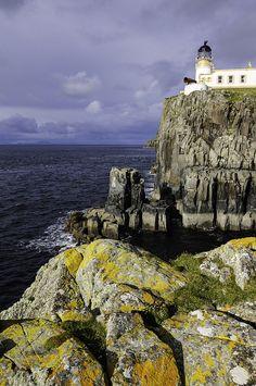 Neist point lighthouse, Ramasaig, Scotland