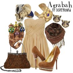 """""""Agrabah"""" by lalakay on Polyvore; the ring is so cool!"""