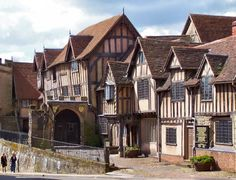 Lord Leycester Hospital, Warwick England, We ate lunch in the tea room on the back side. AWESOME!