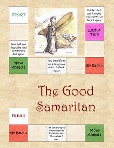 Good Samaritan Parable By Jesus Sunday School Lesson This Page Was