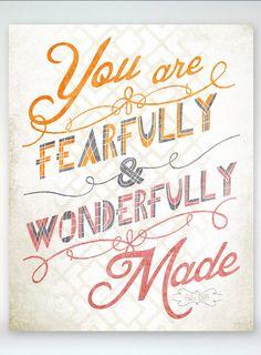 betype:    Fearfully & Wonderfully