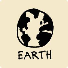 Earth Visual Vocabulary - sketchnoting visual note taking doodling