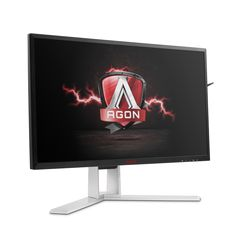 Monitor de Gaming Premium AGON recebe tecnologia NVIDIA G-SYNC e painel IPS