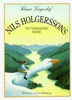 Selma Lagerlöf: Nils Holgerssons wunderbare Reise, ill. von Lars Klinting, Lentz Verl. (1992)