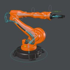 Industrial Robot Arm Model 2 Model available on Turbo Squid, the world's leading provider of digital models for visualization, films, television, and games. Spacex Starship, Robotic Automation, Industrial Robots, Robot Arm, Robot Design, Futuristic Technology, 3d Printing, Engineering, Digital