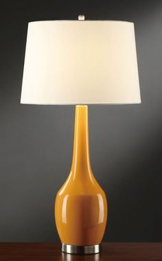 Crestview CVAP1344A Nina Orange Table Lamp - Set of 2 #Crestview. 2 available