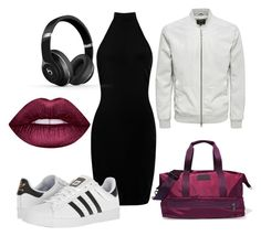 """""""Sport shik"""" by explorer-14898859688 on Polyvore featuring Boohoo, adidas, Beats by Dr. Dre и Lime Crime"""