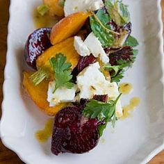 Roasted Carrot and Beet Salad with Feta, Pulled Parsley, and Cumin ...