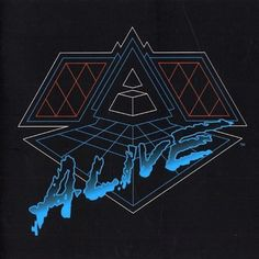 Daft Punk Alive 2007 Vinyl Double LP
