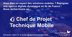 Career Opportunity - Consult this new vacancy Jobs, Career Opportunities, Le Chef, France, Job Description, Solution, Dream Job, Opportunity, Paris