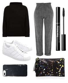 """Senza titolo #215"" by firefashionga on Polyvore featuring moda, Jaeger, Topshop, adidas Originals e Loeffler Randall"