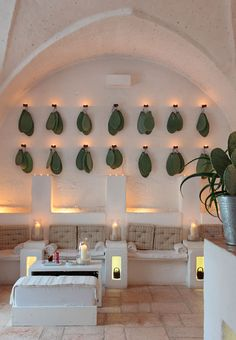〚 Hotel in old farm building in Italy 〛 ◾ Photos ◾Ideas◾ Design Mexican Restaurant Design, Deco Restaurant, Cactus Restaurant, Design Hotel, Lobby Design, Design Design, House Design, Commercial Design, Commercial Interiors