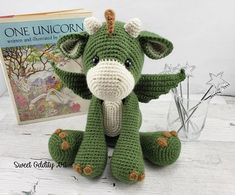 **PLEASE NOTE THIS LISTING IS FOR CROCHET PATTERN NOT ACTUAL TOY** this listing is for Dracarys the Dragon doll crochet pattern he measures 15 tall when using a D hook I recommend it as an intermediate pattern. The instructions are detailed and easy to follow if you know the basic