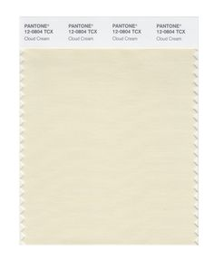 Pantone Smart Swatch 12-0804 Cloud Cream