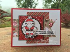 Megumi's Stampin Retreat: Stampin' Up! Cookie Cutter Christmas Card Trio