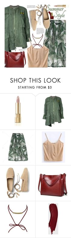"""""""Casual"""" by beebeely-look ❤ liked on Polyvore featuring Dolce&Gabbana, Greg Lauren, Gap, ncLA, casual, tropical, CasualChic, tropicalprint and twinkledeals"""