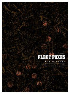 great fleet foxes poster