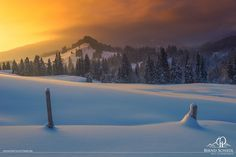 Sundown over the Valley by Bernd Schiedl on 500px