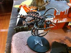Chaos Space Marine flying demon thing, also from Astronomi-con Toronto 2013
