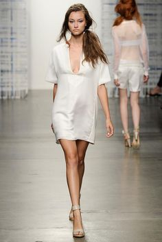 Tess Giberson Spring 2015 Ready-to-Wear - Collection - Gallery - Look 1 - Style.com