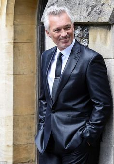 Special guest: However, this time round, the stars of the popular TV show were joined on set by a handsome new addition, Spandau Ballet's Martin Kemp